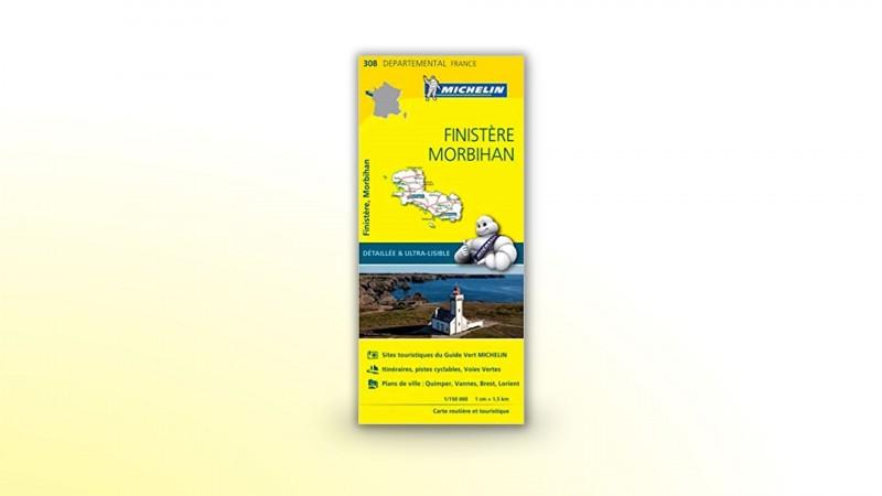 carte-michelin-morbihan-142